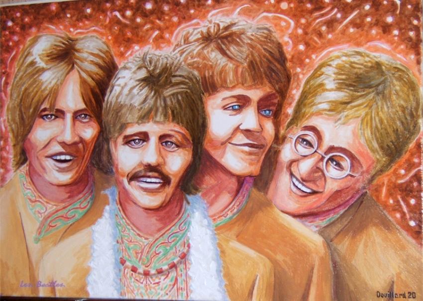 The Beatles par Douillard